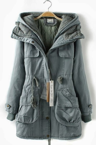 winter outfits jacket long casual