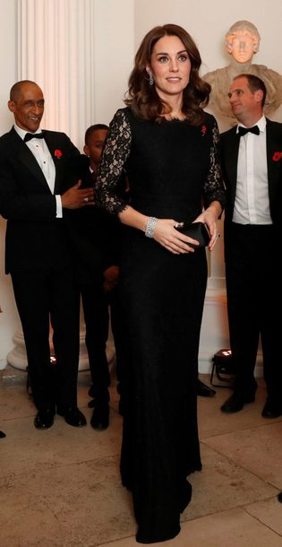 dress black dress lace dress lace kate middleton maxi dress