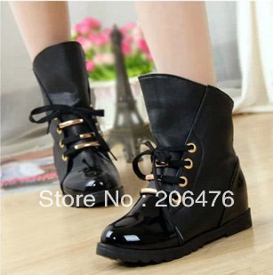 free shipping fashion woman boots martin boots motorcycle boots new arrived new fashion woman winter and autumn woman shoes-inBoots from Shoes on Aliexpress.com