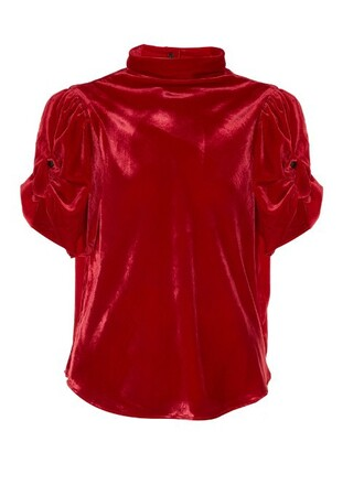 top velvet top high velvet red