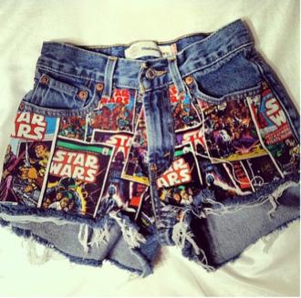 shorts star wars