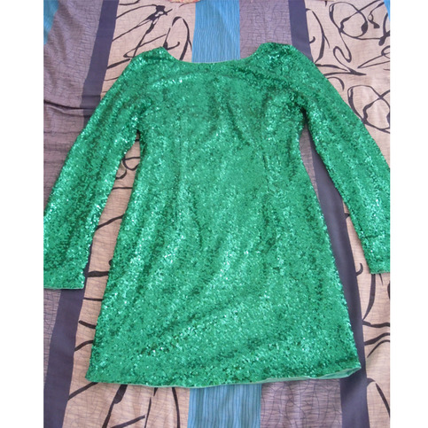 Green sequin dress backless · penny's closet · online store powered by storenvy