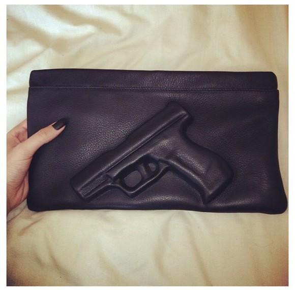 bag leather bag clutch