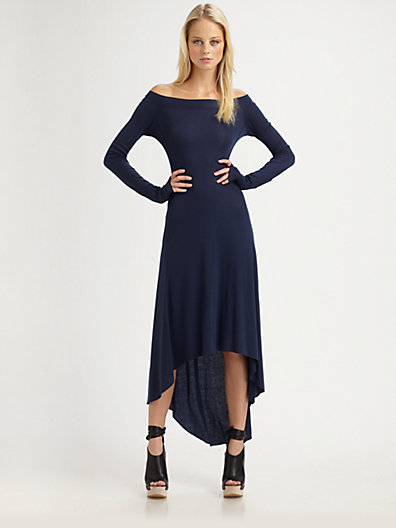 BCBGMAXAZRIA - Aurela Off-The-Shoulder Dress - Saks.com