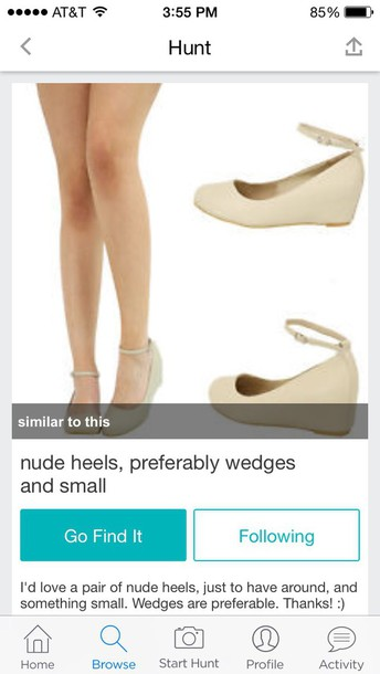 shoes the hunt # beige # size  5/6