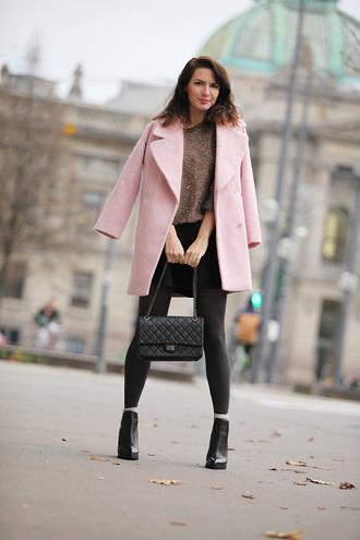 estelle blog mode blogger pink coat