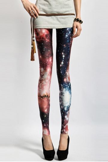 Gradient Street Style Leggings [FBBI0080]- US$ 35.99 - PersunMall.com