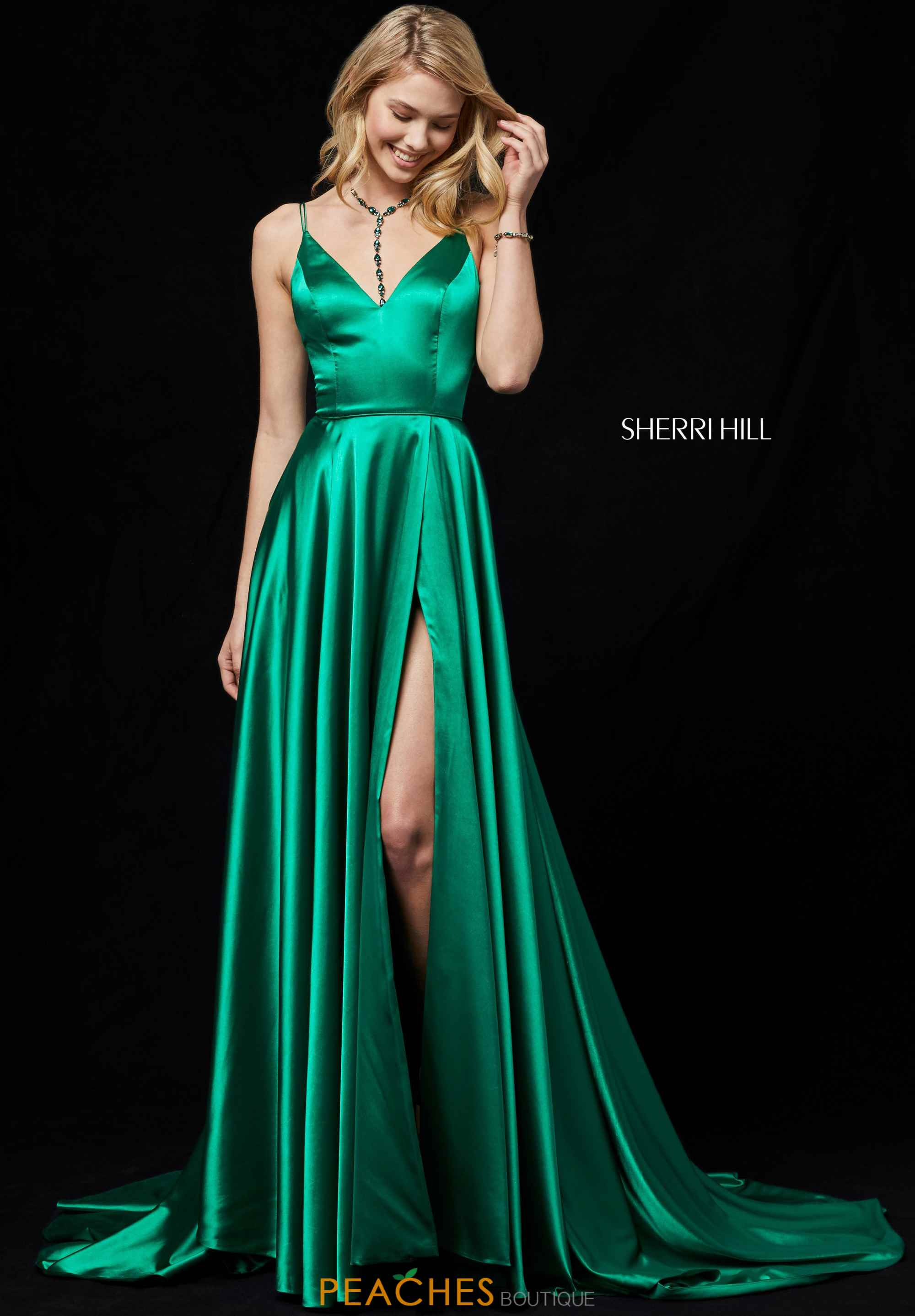 Sherri Hill Dress 52119 | PeachesBoutique.com