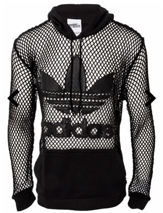 t-shirt adidas mesh black