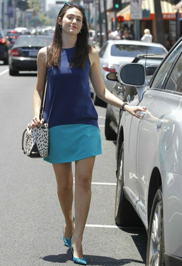 shoes emmy rossum bag