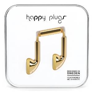 Amazon.com: Happy Plugs 7727 Earbuds Gold: Home Audio & Theater