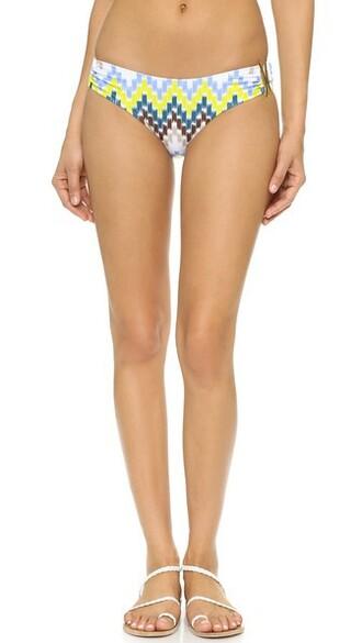 bikini bandeau bikini bikini bottoms chevron swimwear