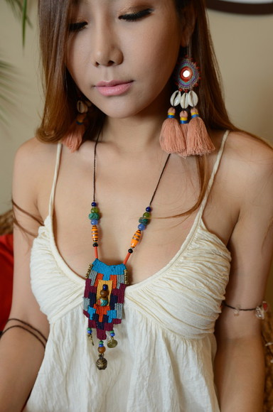 festival coachella jewels handmade burning man necklace designer europe
