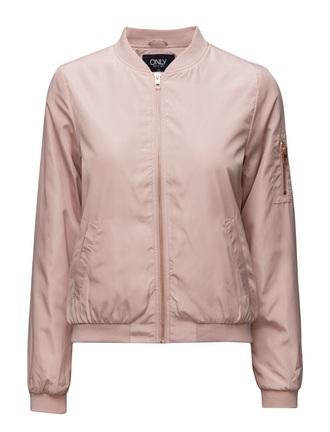 jacket nude pink bomber jacket