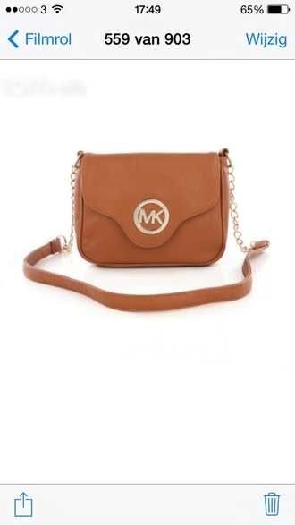 bag michael kors camel bag