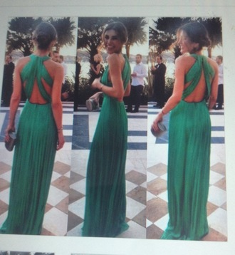 dress green halter prom prom dress pretty pinterest halter dress gown maxi dress emerald