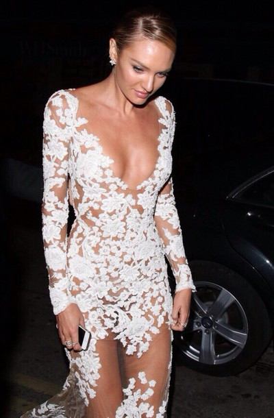 dress lace dress floral dress see through dress