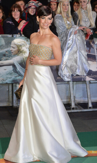 dress gown wedding dress evangeline lilly prom dress bag clutch