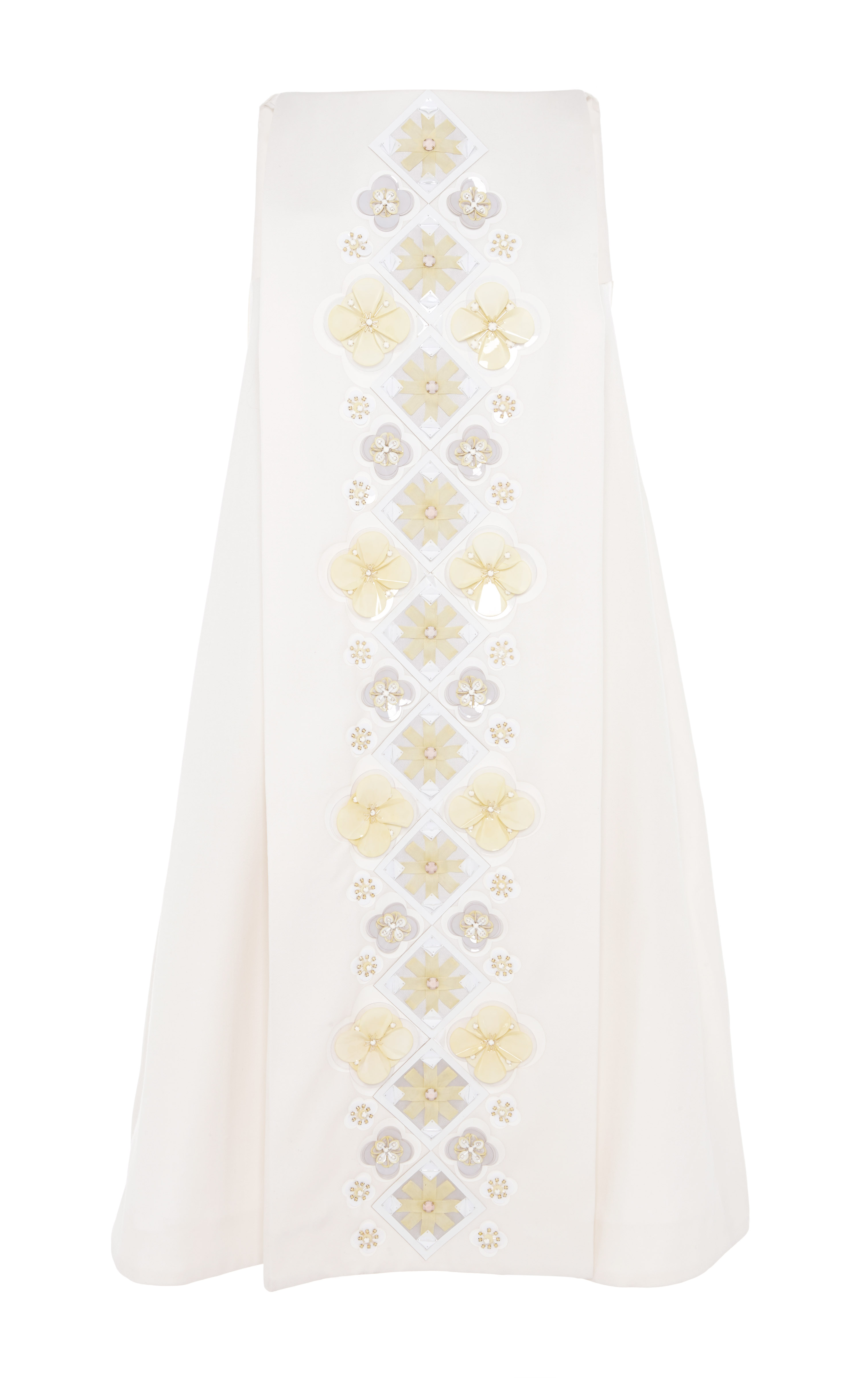 Holly fulton short pleat front wool dress by holly fulton