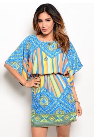 top tunic tribal print tunic dress