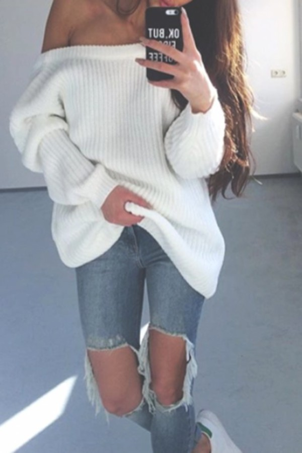 Sweater: knitwear, oversized sweater, iphone cover, hipster, zaful ...