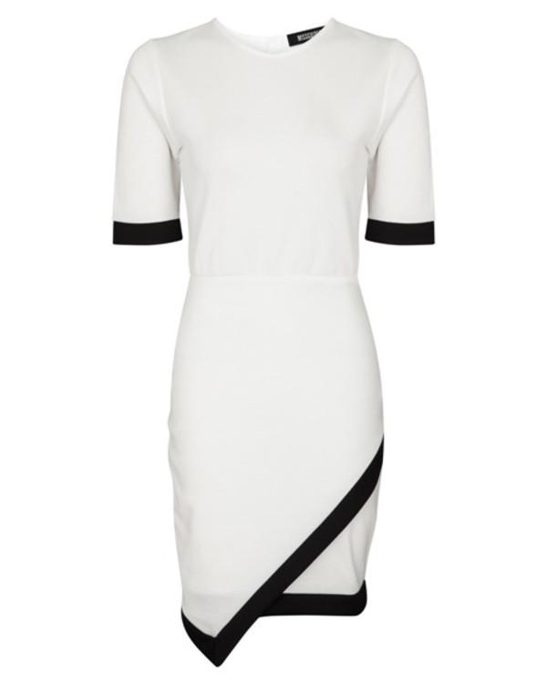 black dress white dress monochrome dress asymmetrical dress asymmetrical dress black and white black and white dress dress hot cool