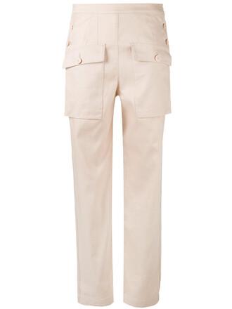 sailor women cotton purple pink pants