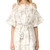 Zimmermann Winsome Shimmer Dress - Gold Embroidery