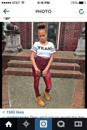 jeans,raspberry color,ripped jeans,tribal pattern,baddies,cutie,shirt
