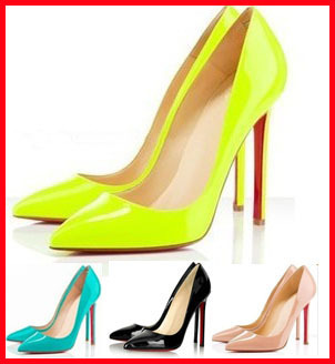 shipping 2014 new hot sale Fashion star style candy neon yellow ...
