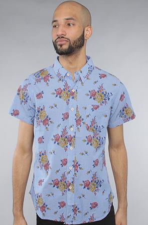 Obey The Meadowlark SS Buttondown Shirt in Indigo -  Karmaloop.com