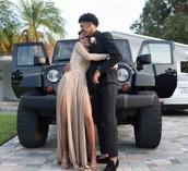 dress,two slits,prom dress,prom,long sleeve dress,nude dress,gold,lace dress