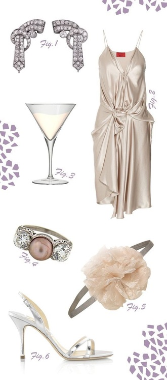 dress ivory light 1920 v nec the great gatsby