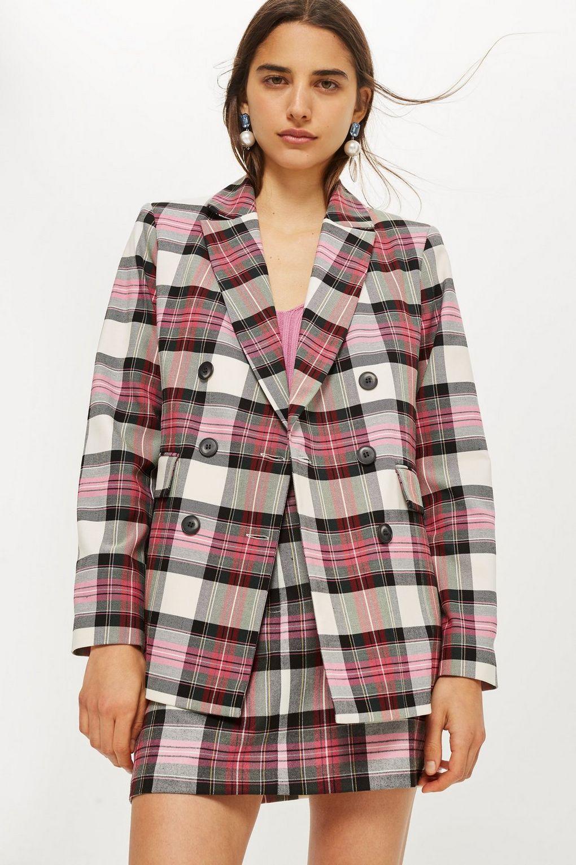 Pink Tartan Jacket