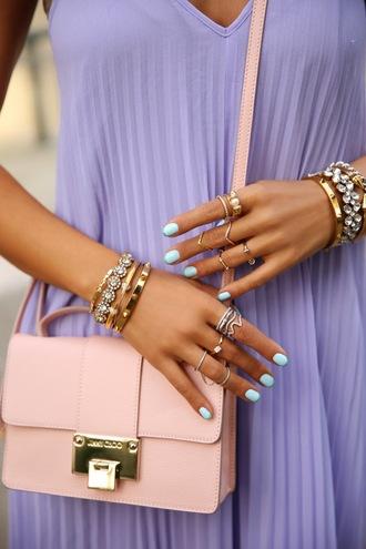 viva luxury bag jewels dress sunglasses nail polish