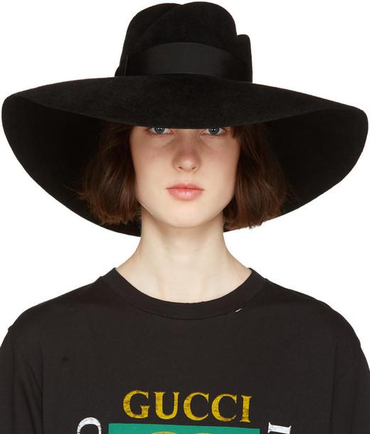 d9a67cd3 Gucci Black Anita Fedora - Wheretoget