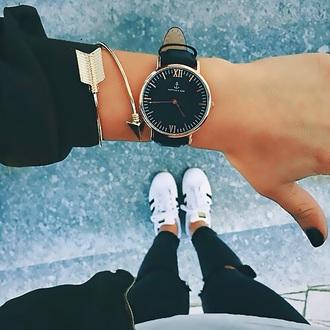 jewels gold bracelet bracelets gold jewelry black watch designer luxury