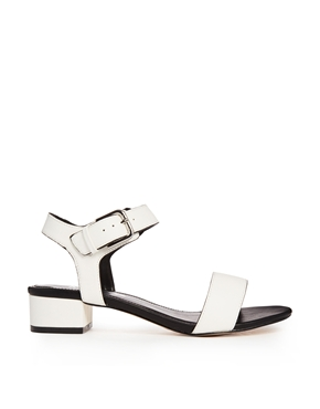 Miss KG | Miss KG Pamela White Buckle Strap Sandals at ASOS