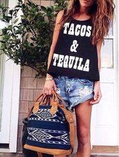 t-shirt,tacos and tequila shirt