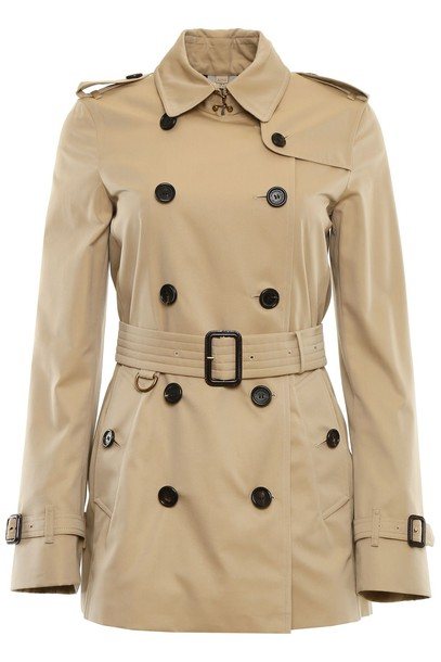 Burberry coat trench coat short