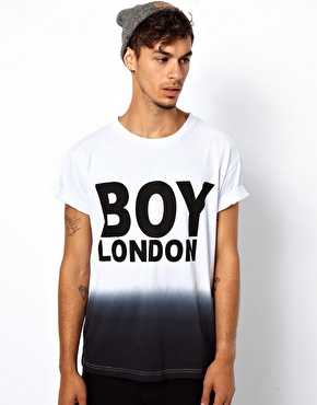 BOY London | Boy London Dip Dye T-Shirt at ASOS