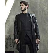 jacket,tv-series,inhumans,celebrity,Iwan Rheon,leather jacket,fashion,ootd,style,outfit,menswear,shopping