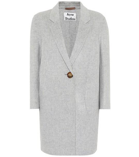 Acne Studios coat wool grey