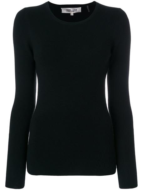 Dvf Diane Von Furstenberg sweater back women spandex black