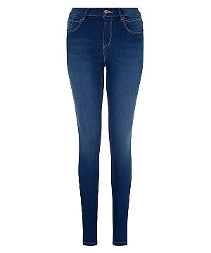 Dark blue supersoft super skinny jeans