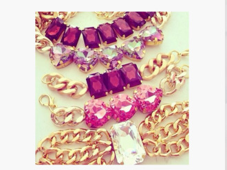 jewels fashion jewelry gold jewelry swarovski bracelets necklace chain crystal rhinestones gold gold bracelet gemstone