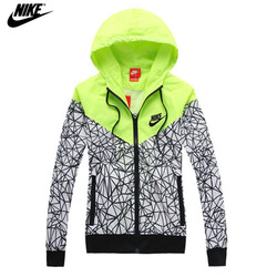 Online Shop NIKE spring Autumn new Women's sports jacket hooded jacket Women Fashion Thin Windbreaker Zipper Coats Free Shipping!|Aliexpress Mobile