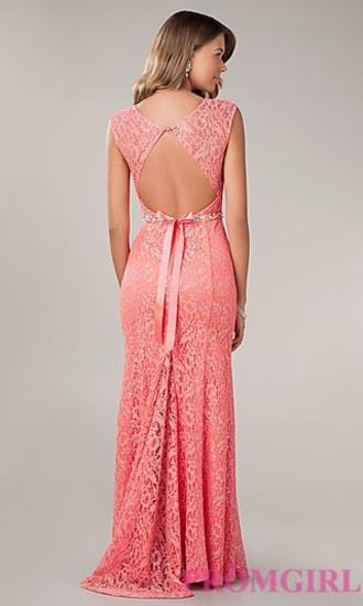 dress coral/peach colour
