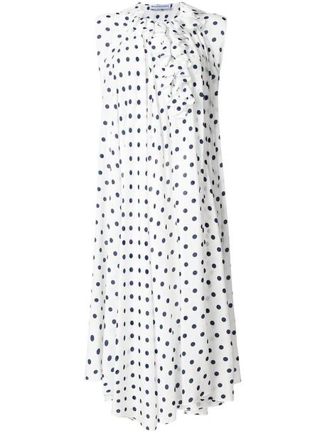 Balenciaga top women white silk