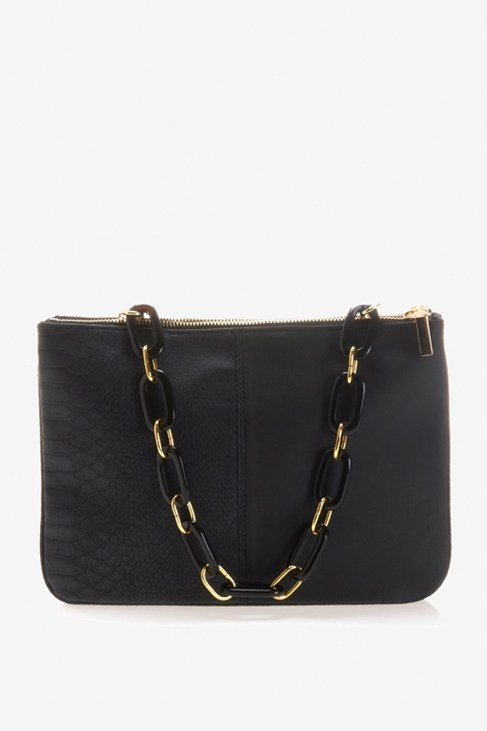 Metal Chain Clutch - Bags - French Connection Usa